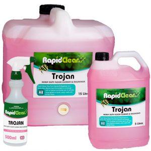 Heavy Duty Floor Cleaner & Degreaser - Trojan
