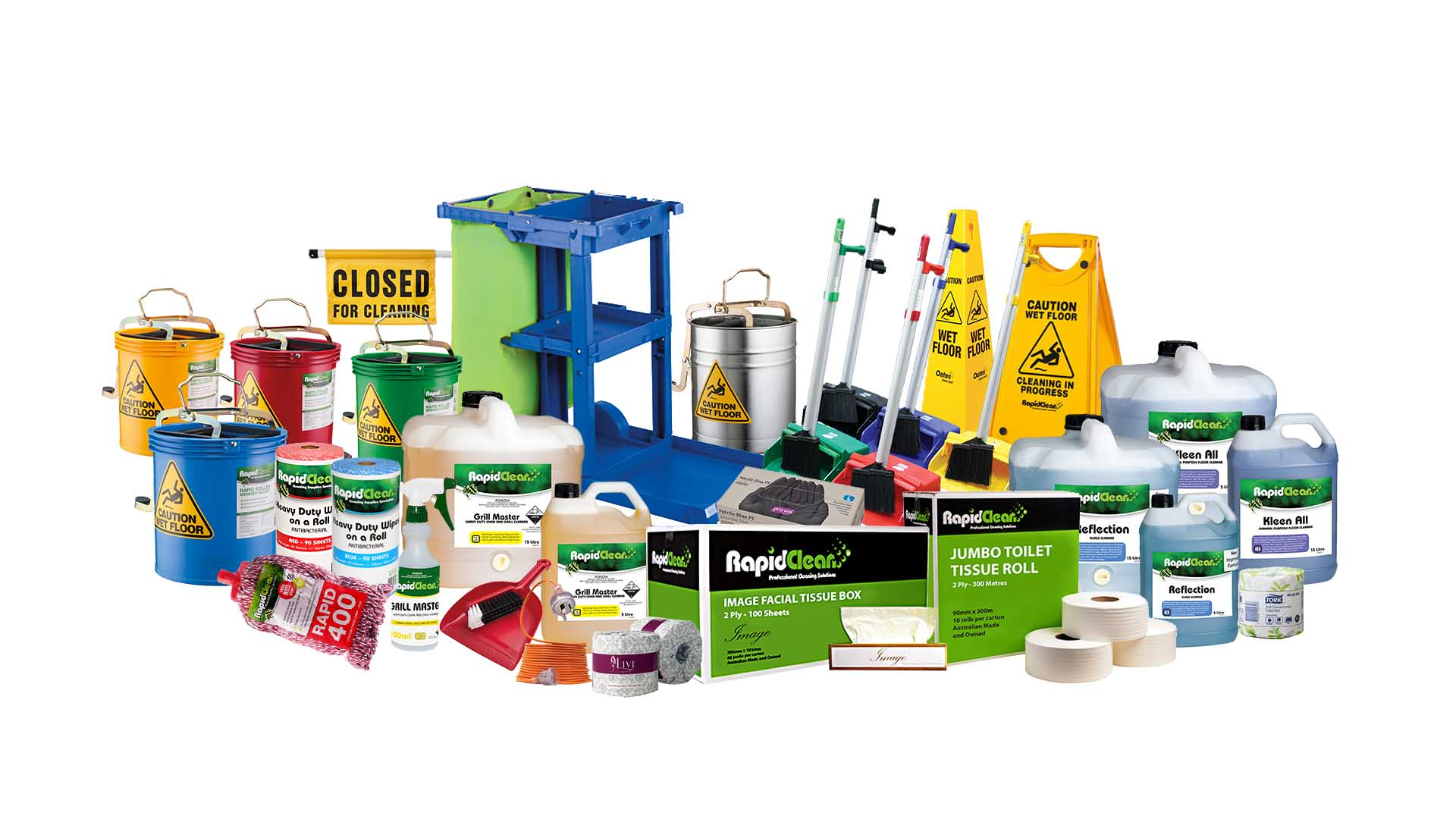 SDS & Support RapidClean South Coast SCB Distributors