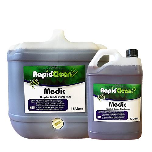 RapidClean Medic - Hospital Grade Disinfectant